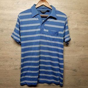 Vintage Striped Polo Shirt. Perfect Condition!